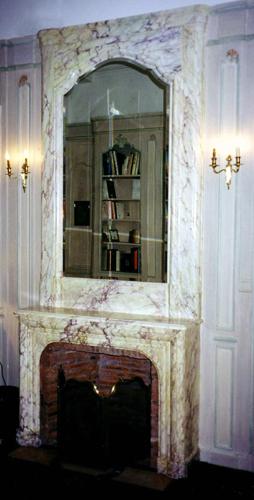 Faux marbre décoration