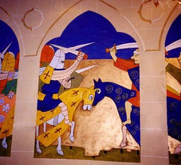 Fresque - peinture artistique paris