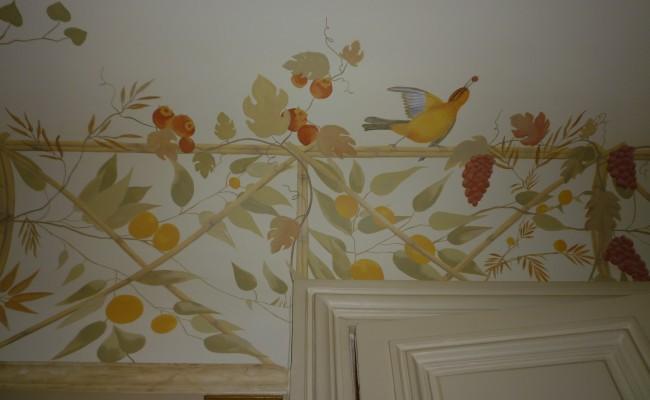 Plafonds peints Jean Claude Frontière
